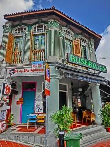 アラブストリートのカフェ