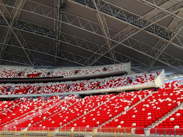新ナショナルスタジアム観客席-シンガポール