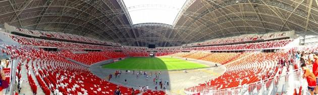 新ナショナルスタジアム パノラマ-シンガポール