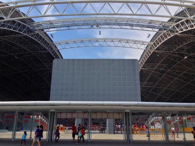 ナショナルスタジアム入口-シンガポール