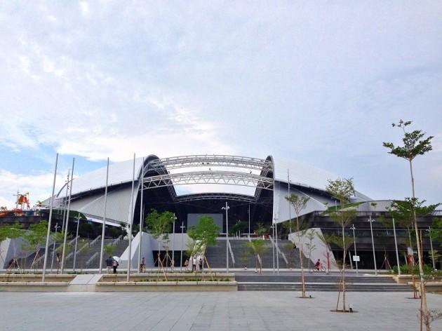 ナショナルスタジアム全景-シンガポール
