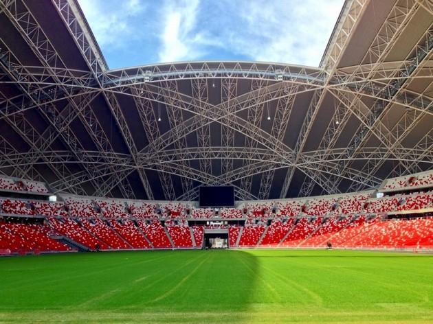 新ナショナルスタジアム・フィールドーシンガポール