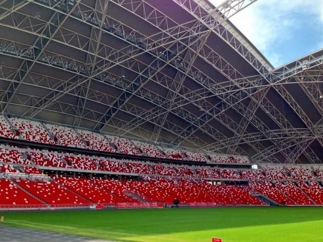 新ナショナルスタジアム観客席ーシンガポール