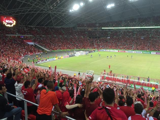 シンガポールのゴール!