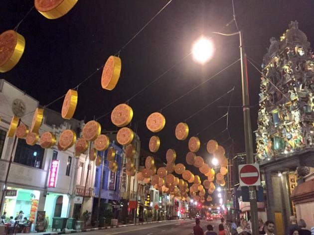 チャイナタウン旧正月