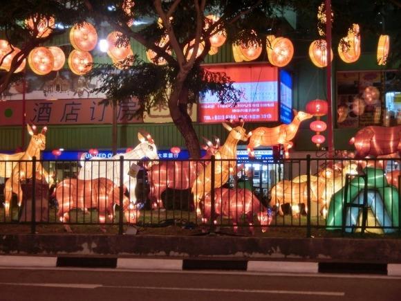 干支の羊|旧正月のシンガポール・チャイナタン