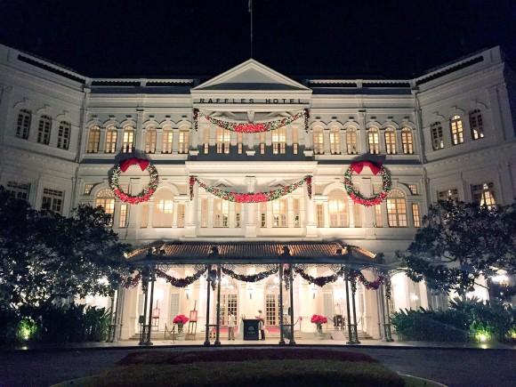 ラッフルズホテルのクリスマス