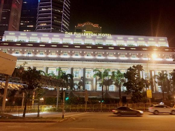 フラトンホテル シンガポール