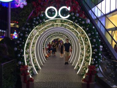 オーチャードロード クリスマスライトアップ