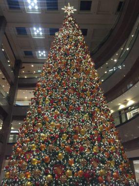 オーチャードロード クリスマスライトアップ 高島屋シンガポール