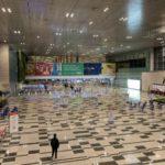 チャンギ空港の様子
